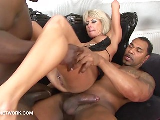 Interracial old wife