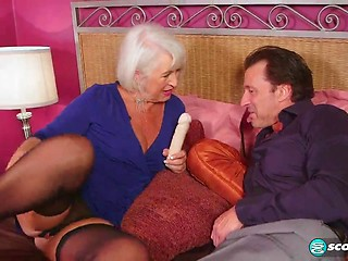 Mature Sex Mature Big Butt Dildo