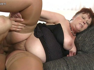 Chubby mature fuck old dick