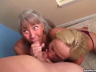Boy cum on mom face apologise