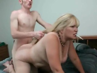 Porno smoking mature